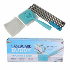 Skirting Board Cleaning Brush - Perfect for Cleaning Skirting Board+2 Free Cloth