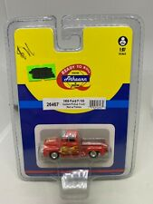 Athearn 1:87 Ford F-100 Custom Pickup Truck Red Flames