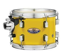 """Pearl Decade Maple 12""""x8"""" Tom Drum Solid Yellow Dmp1208T/C228"""