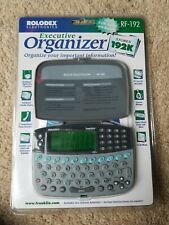 Rolodex Personal Electronic Organizer RF-22192 by Franklin 1998 v1 brand New
