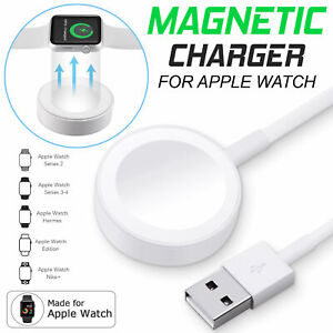 For Apple Watch iWatch 5 4 3 2 1 Magnetic charging Cable 38 42 44mm Charger UK