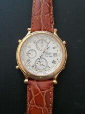 seiko quartz world time 5T52-7A11 mens watch