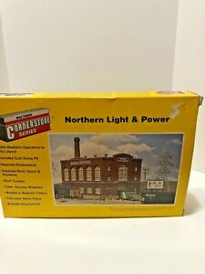 Walthers Cornerstone N Scale Northern Light And Power Kit No. 933-3214 in Box
