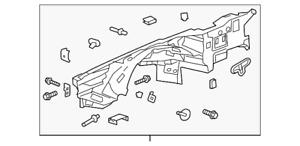 Genuine GM Wheelhouse Panel 84489206