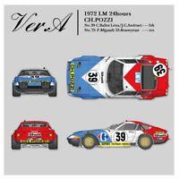 1/12 KIT Ferrari 365 GTB4 Le Mans 1972 CH.POZZI CARREFOUR - model factory hiro