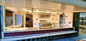 Storage Container Conversion - Catering Conversion/ Catering Trailer/ Food Truck