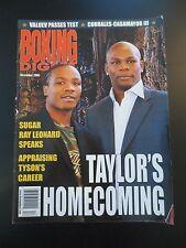 December 2006 BOXING DIGEST MAGAZINE Jermain Taylor Kassim Ouma