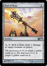 Rod of Ruin   x4   EX/NM JAPANESE M14  MTG Magic Cards Artifact  Uncommon
