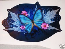 BLUE Tribal Butterfly Car Truck Window Decal Decals Sticker Butterflies