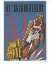 1995-96 SKYBOX PREMIUM BASKETBALL ROOKIE PREVIEW ED O'BANNON #RP8 - NJ NETS