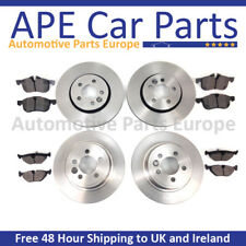 OEM SPEC FRONT AND REAR DISCS PADS FOR RENAULT MEGANE MK2 SALOON 2.0 2005-09
