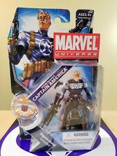 MARVEL UNIVERSE STEVE ROGERS CAPTAIN AMERICA ACTION FIGURE 2011 HASBRO NEW