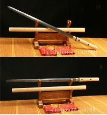 """39"""" FOLDED STEEL  FULL TANG BLADE JAPANESE SWORD KATANA BATTLE READY"""