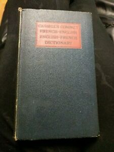 Cassells Compact French -English English -French Dictionary 1934 (21st Edition)