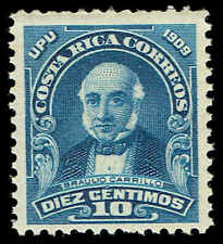 Scott # 73 - 1910 - ' Braulio Carrillo '