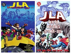 JLA: WORLD WITHOUT GROWN-UPS Volumes 1 & 2 Graphic Novels
