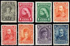 Newfoundland Scott 78-85 (1897-1901) Mint/Used H OG/NG F-VF, CV $122.35