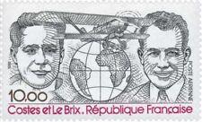 Timbre Poste Aérienne PA55b Neuf** variété gomme tropicale Costes & Le Brix 1981