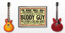 HUGE 23 x 33 1965 Rod Stewart Concert Poster UK