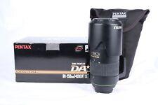 PENTAX 60-250MM F4 ED IF SDM DA SMC