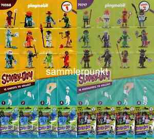 1 PLAYMOBIL® FIGUR -im DVB oder OVP- Ihrer Wahl aus den Scooby-Doo! Serien 1&2