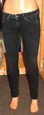 PEPE London Jeans * CHER DLX Slim Leg * W 27 / L 32 schwarz