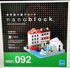NEW! Nanoblock Water City Venezia Italy 350 Pcs Building Block NBH-092