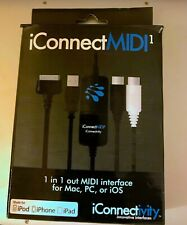 iConnect MIDI1 interface for Mac, PC, or iOS