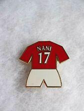 NANI #17 - MANCHESTER UNITED - Player - Shirt - PIN BADGE
