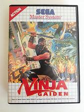 NINJA GAIDEN - Sega Master System - PAL - COMPLET