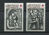 22266) FRANCE 1961 MNH** Nuovi** Red Cross Croce Rossa