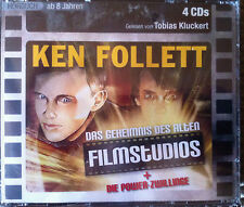 Hörbuch Fantasy 4CDs das Geheimnis des alten Filmstudios+Die Power ab 8