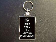 KEEP CALM I'M A DRIVING INSTRUCTOR KEYRING GIFT BAG TAG BIRTHDAY GIFT