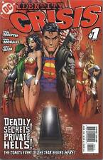Identity Crisis Comic Issue 1 Modern Age First Print 2004 Meltzer Morales Bair