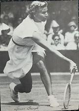 Signed Louise Brough Tennis Open Wimbledon Grand Slam Winner Autograph