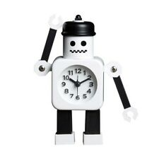 Cartoon Robot-Shaped Alarm Clock For Kids Creative Clock Student's Great Gift