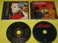 Blondie Greatest Hits & Eurythmics Greatest Hits 2 CD Albums Pop Rock Debbie Har