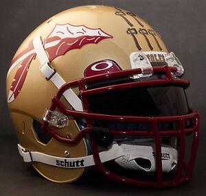 *CUSTOM* FLORIDA STATE SEMINOLESNCAA Schutt XP GAMEDAY Replica Football Helmet