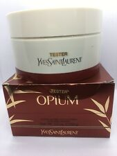 Rare Vintage YSL Opium Perfumed Bath Body Dusting Powder 5.2 oz 150g New NIB Big