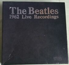 The Beatles 1962 LIVE RECORDINGS 1988 BAKTABAK UK BOX SET 15 45s RARE