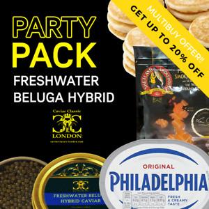 Freshwater Beluga Hyb. Party-Pack Caviar (30-50gr).