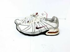 Air Max Torch SL Running Shoes, Women SIZE 7.5 White Silver Pink 317004