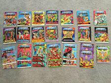 Vintage 1980s Masters of the Universe He-man mini comic book lot, Motu, Lot