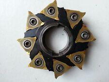 Scheibenfräser Simtek M81.0080.08 L +8 neuen Wndeplatten bestückt inkl.19% MwSt.