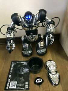 "Infrared Control Robot RoboSapien X - Toys ""R"" Us Limited Chrome Silver Color"