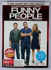 Funny People DVD 2 Disc Laugh-Out-Loud Edition TRACKED POST