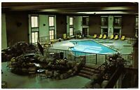 Lake Placid New York Postcard Howard Johnson's Motor Lodge Saranac Ave #75698