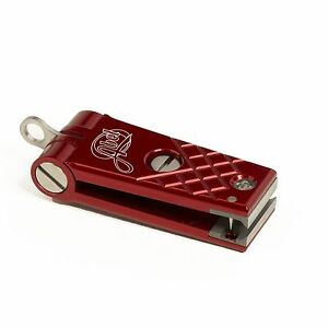 NEW ABEL FLY FISHING LINE NIPPER CUTTER RED COLOR IN STOCK FREE US SHIPPING