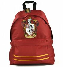 Harry Potter GRYFFINDOR CREST RUCKSACK School GYM Shoulder Bag BACKPACK