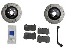 For Mercedes W221 S550 4Matic S600 07-12 Front Brake KIT Rotors w/ JURID Pads
